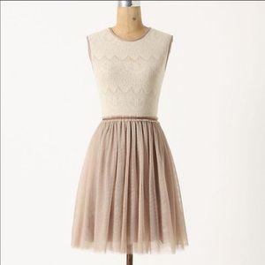 Anthro Weston Wear Dulce Tulle Ballerina Dress
